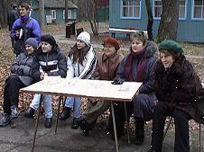 Журі конкурсу академічних груп 2 курсу на чолі з деканом