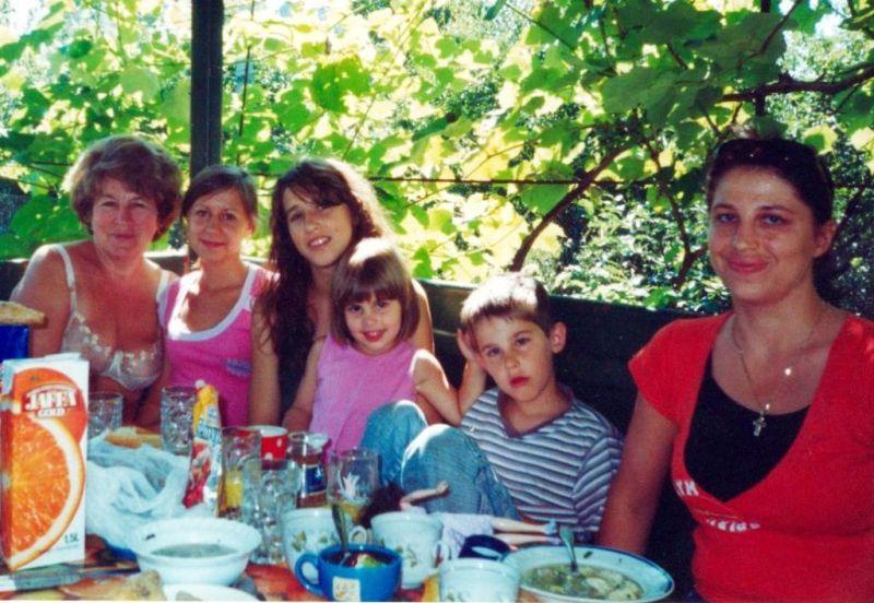 З родиною на власній дачі